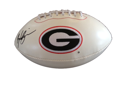 BRANDON BOYKIN SIGNED GEORGIA BULLDOGS FOOTBALL