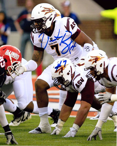VONTAZE BURFICT SIGNED ARIZONA STATE SUN DEVILS 8x10 PHOTO
