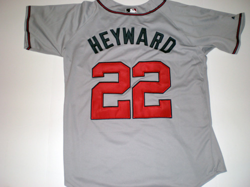 JASON HEYWARD ATLANTA BRAVES JERSEY AWAY