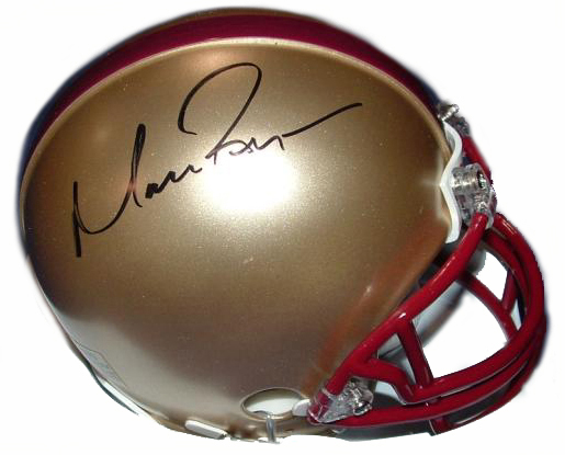 MATT RYAN AUTOGRAPHED BOSTON COLLEGE MINI HELMET NCAA