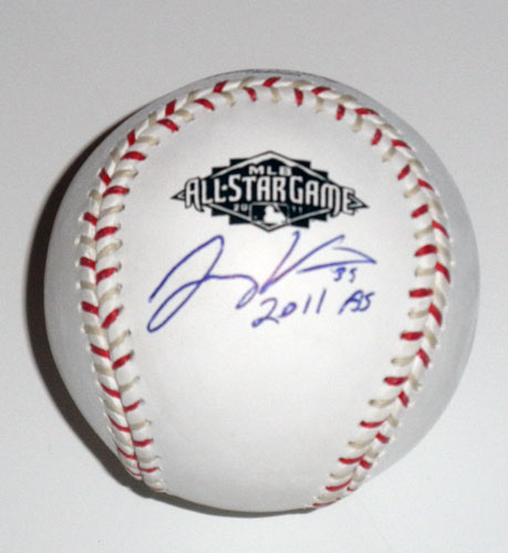 JONNY VENTERS AUTOGRAPHED ALL STAR BASEBALL